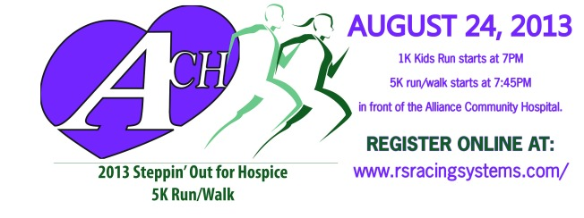 Alliance Community Hospital Annual Hospice Twilight 5K Run/Walk